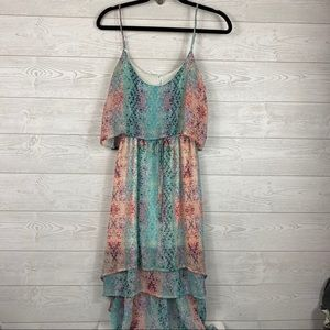 Maurices I High Low Floral Dress